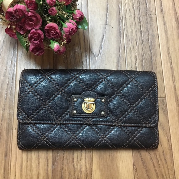 Marc Jacobs - Marc Jacobs Quilted Wallet - Made in Italy from ... : marc jacobs quilted wallet - Adamdwight.com