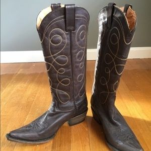 Stetson Shoes - NEW Stetson Zippered Back Cowboy Boots