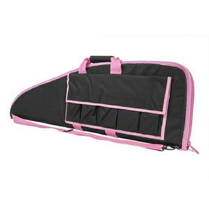 """Handbags - NcStar 2907 Series Rifle Case 36"""" Black with Pink"""
