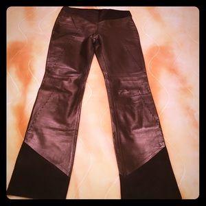 Gianfranco Ferre Pants - GF Ferre leather suede  pants