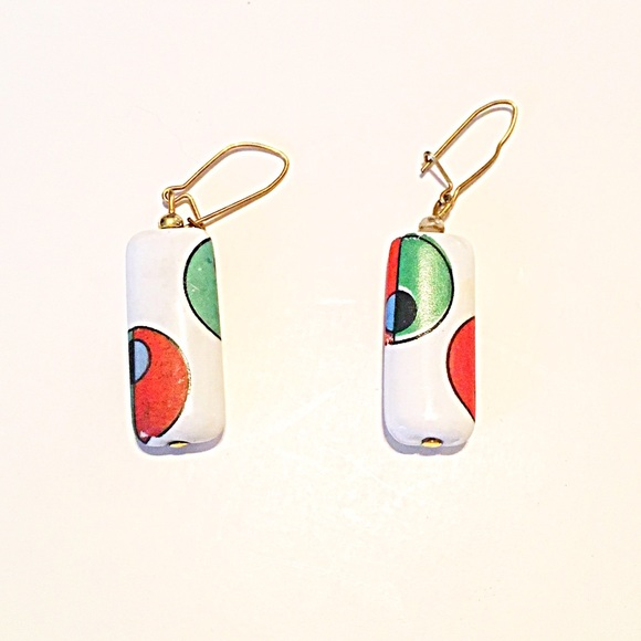 Jewelry - 👂🏼Ceramic Geometric Earrings