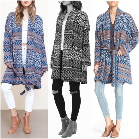Free People - SALE! ❄ Free People Oversized Wrap Sweater from ...