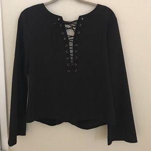 SheInside Tops - Black blouse