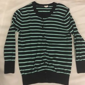 J. Crew Sweaters - J.Crew Striped Cardigan