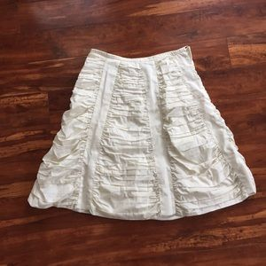 Dresses & Skirts - Alaia Style Marc Jacobs cotton flare ivory skirt 2