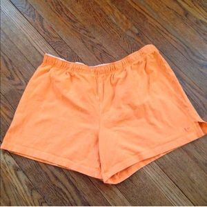 Athletic works Pants - Orange knit shorts!