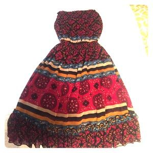 Chic boho dress