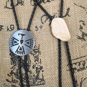 Bolo Duo. Stone and Metal.