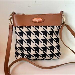 Spartina 449 Handbags - Houndstooth Crossbody Bag by Spartina 449
