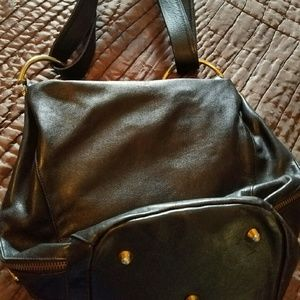 Mario Orlandi Handbags - Marino Orlandi Black convertible handbag ? Italian