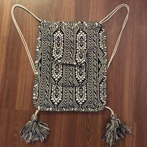 Aritzia Handbags - SALE HOST PICK Aritzia Azure Skies knit knapsack