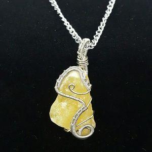 Handmade Jewelry - ORANGE CALCITE: mental, emotional, creativity