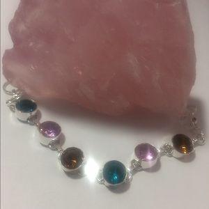 Jewelry - 🎀STERLING SILVER 🎀MULTI SEMI PRECIOUS STONES