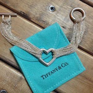 Tiffany & Co. Open heart multi-strand bracelet