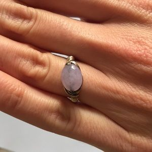 Jewelry - Wire and light purple stone ring
