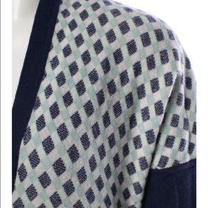 Zac Posen Sweaters - Zac Posen Wool Check Cardigan