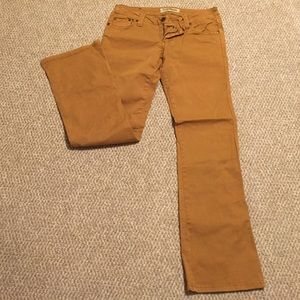 Mustard color Jeans