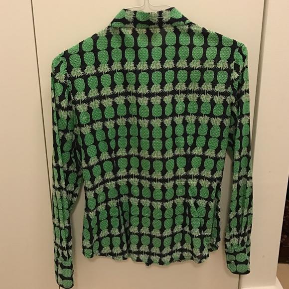 88 off tory burch tops tory burch button down shirt for Tory burch button down shirt