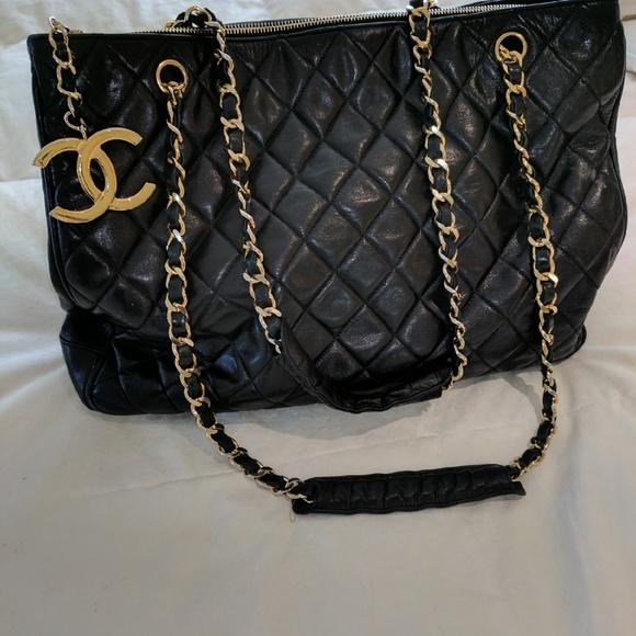 c539e16165b CHANEL Bags   100 Authentic Vintage Tote   Poshmark