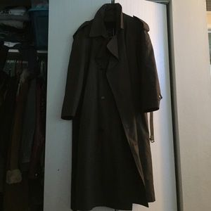 Christian Dior Jackets & Blazers - Olive green trench coat