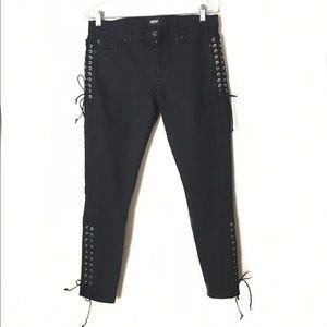 Hudson Jeans Denim - Hudson Jeans Black Stretch Denim Skinny