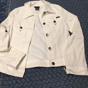 Tractr Other - White kids jean jacket