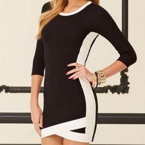ALLOY Dresses & Skirts - Alloy Nancy Colorblock Trim Dress