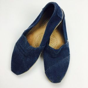 Toms Navy Blue Freetown Classics