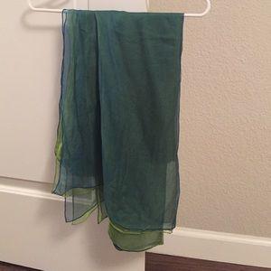 Accessories - Never worn, 100% silk scarf.