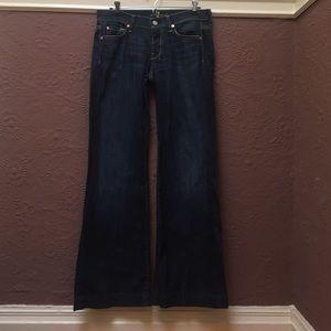 7 for all mankind dojo jeans!!