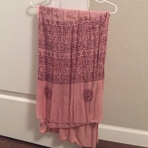 Accessories - Bohemian scarf.