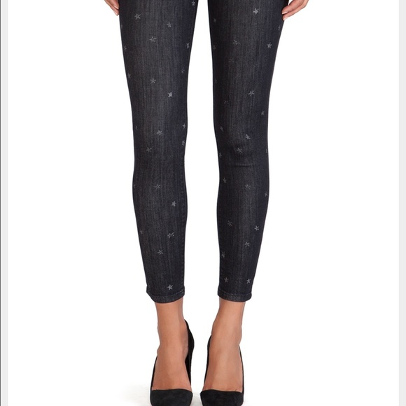 74% off Current/Elliott Denim - Current Elliot black star jeans ...