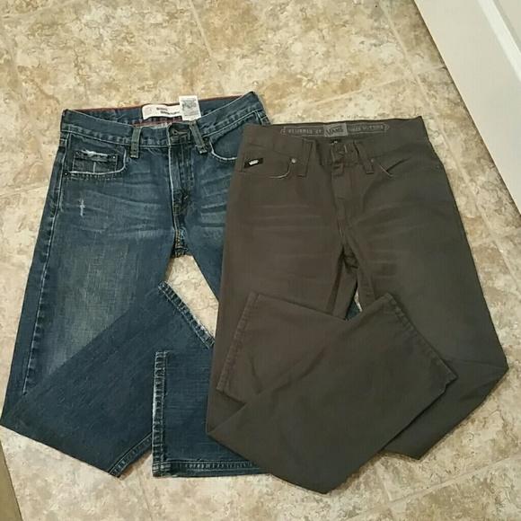 c61fe2a51a3a2b Levis   Vans Other - Lot of 2 kids jeans