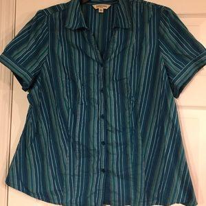 St. John's Bay short sleeve shirt 2X
