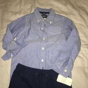 Osh Kosh Other - 🆕 NWT Boy's Chambray Shirt Osh Kosh B'gosh