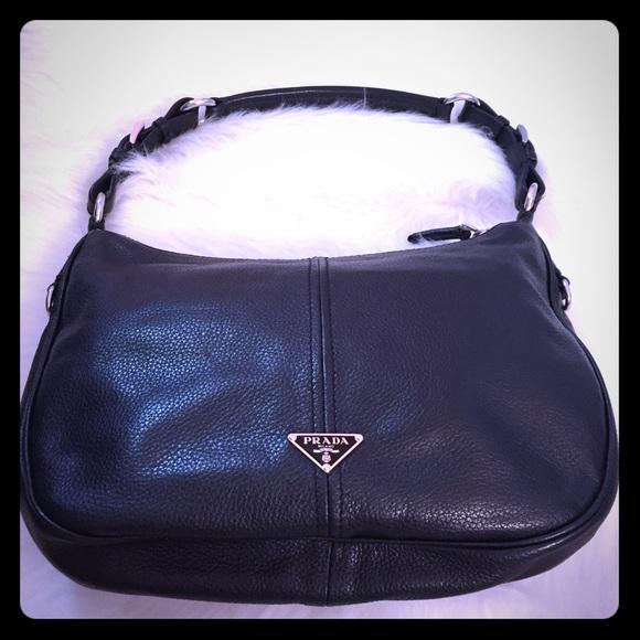 1e1f106af5b3bd coupon code for prada shoulder bag black leather 20 9e00a a3965