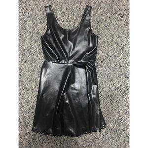 Caruso Dresses & Skirts - Black metallic skater dress. Never Worn