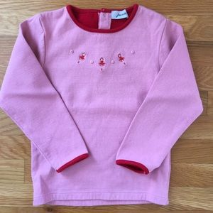 Jacadi Other - Pink Long Sleeve Dancers Top
