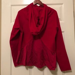 lululemon athletica Tops - Lululemon Red Sweatshirt
