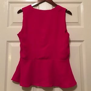Express Tops - ‼️FLASH SALE‼️Express Pink Peplum Top
