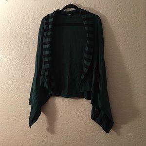 XXL Green/Black Vest -- USED