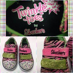 Skechers Other - Skechers Twinkle ✨Toes Sneakers