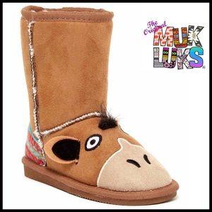 Muk Luks Other - MUK LUKS Boots VEGAN Shearling Lined