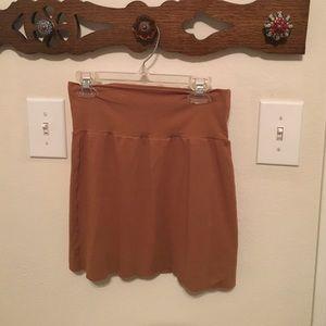 American apparel size medium mini skirt