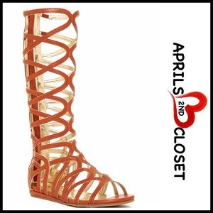 Kenneth Cole Reaction Other - ❗1-HOUR SALE❗Boots Tall Gladiator Sandal Boots