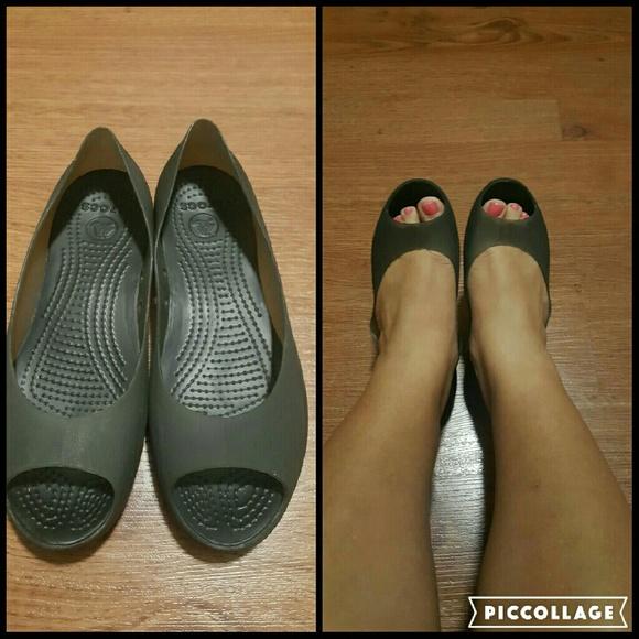 f977466e5a7cf7 CROCS Shoes - Crocs Carlie ballet open toe flats