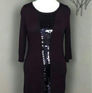 Kische Dresses & Skirts - Tunic Purple Sequin