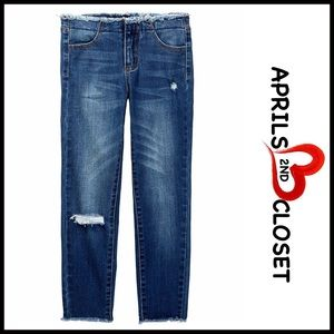 Tractr Other - ❗1-HOUR SALE❗TRACTR Denim Fray Jeans Big Girls