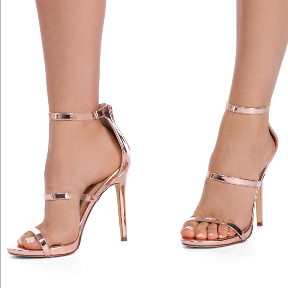 9c7a885df0d Rose gold heels from Windsor. M 5832546a4225bee2270964bd
