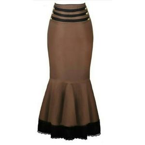 ***PRICE IS FIRM*** Brown Steampunk Skirt